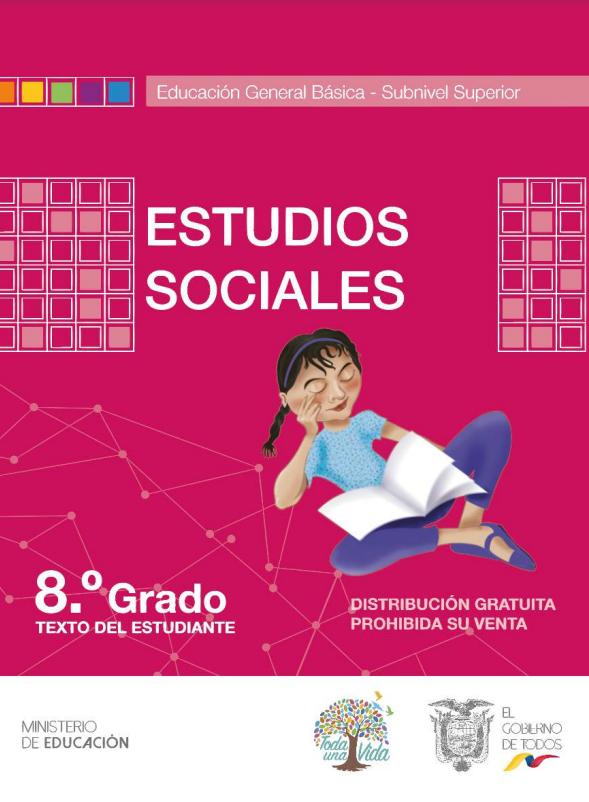 Libro de Texto de Estudios Sociales 8 Octavo Año